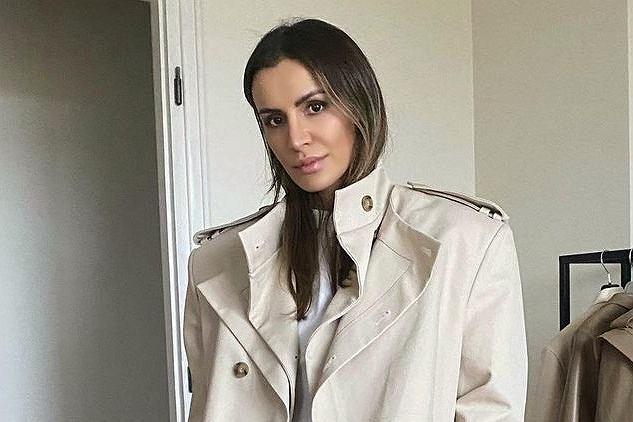 Sara Boruc chwali się, że Irina Shayk nosi jej płaszcz