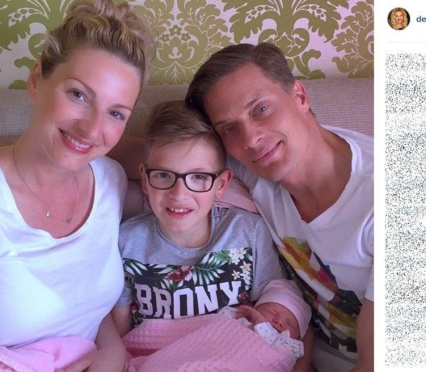 Denise Post van Rijswijk z rodziną
