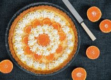 Tarta z kremem pomarańczowym i karmelizowanymi pomarańczami - ugotuj