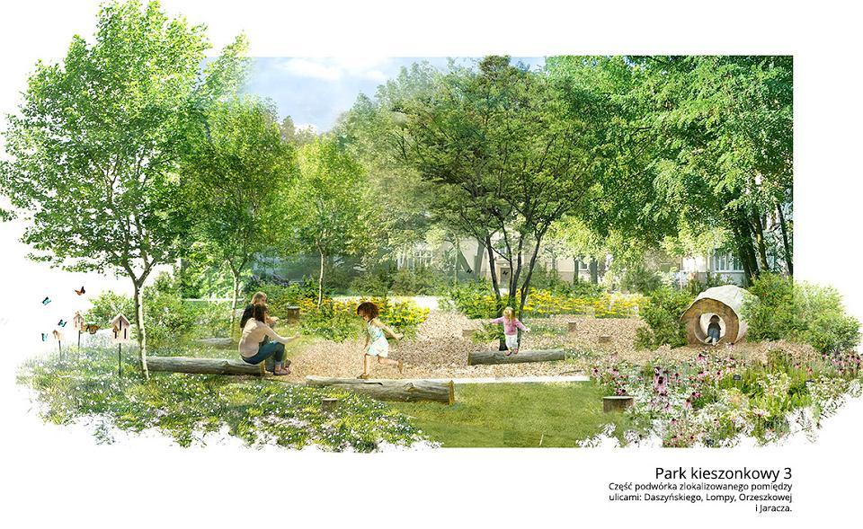 Parki kieszonkowe na Ołbinie