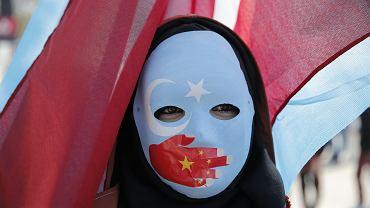 Uigures en China