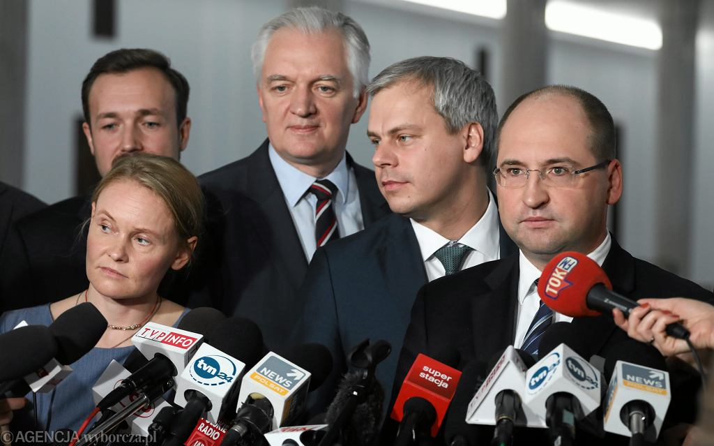 Konferencja prasowa Polski Razem/Porozumienia (2017 r.)