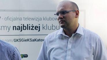 Marcin Janicki, wiceprezes GKS-u Katowice