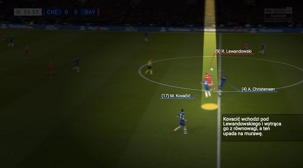 W tym momencie Robert Lewandowski doznał kontuzji w meczu z Chelsea