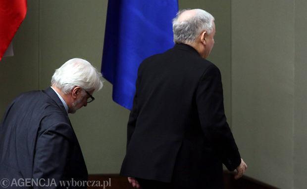 Witold Waszczykowski i Jarosław Kaczyński