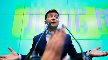 Wołodymyr Zełenski, prezydent elekt Ukrainy. Zdjęcie ilustracyjne