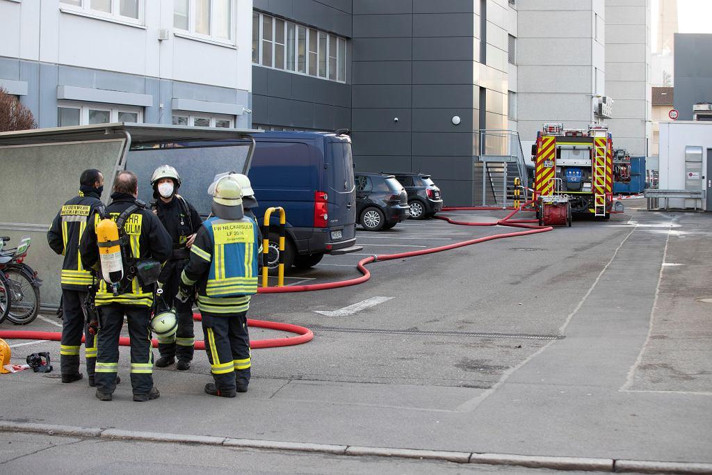 Niemcy. Wybuch w centrali Lidla