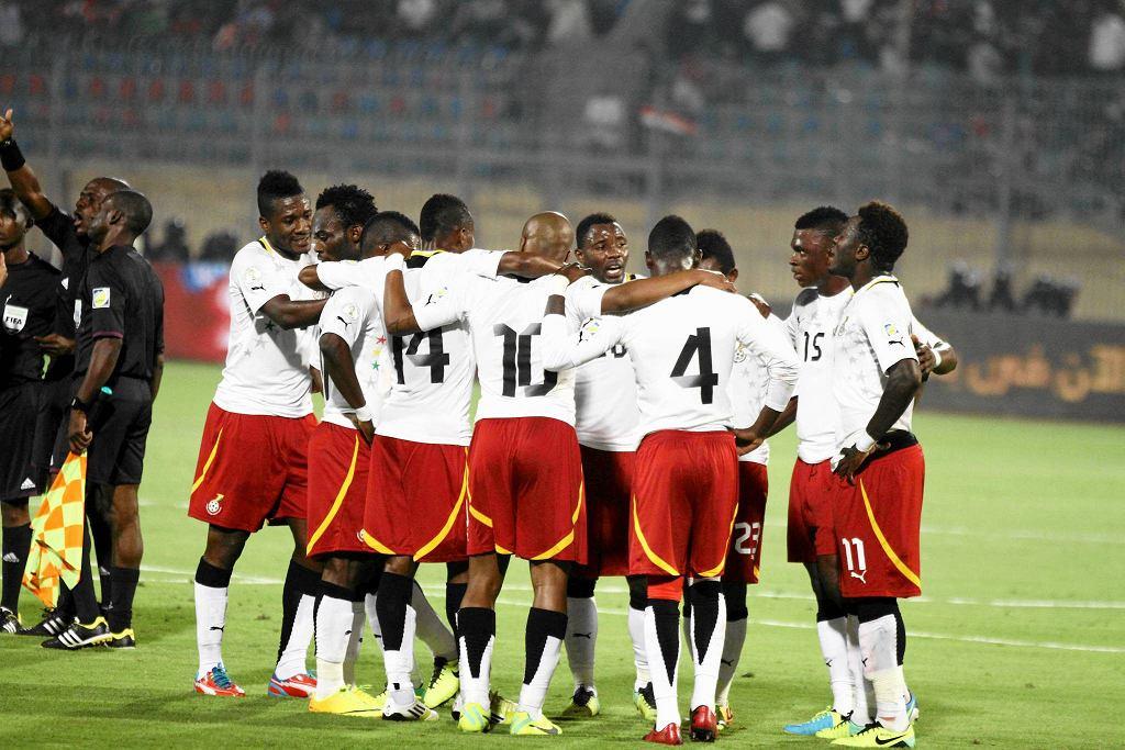Radość graczy Ghany