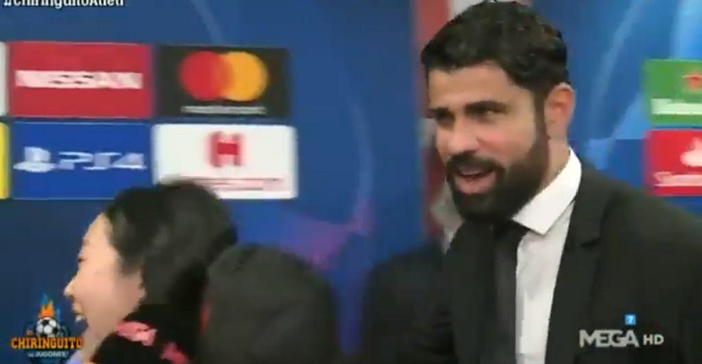 Diego Costa po meczu z Liverpoolem