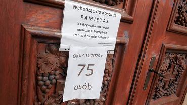 Sondaż. Ponad 40 proc. Polaków nie chce, aby podczas pandemii były otwarte kościoły
