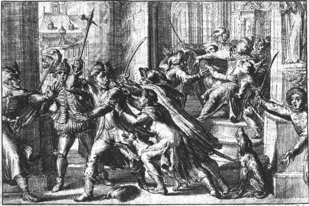 Zamach Michała Piekarskiego na Zygmunta III Wazę, 15 listopada 1620 r.