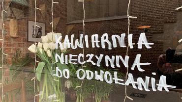 Kawiarnia W Starym Kadrze w Gdańsku nieczynna do odwołania z powodu koronawirusa