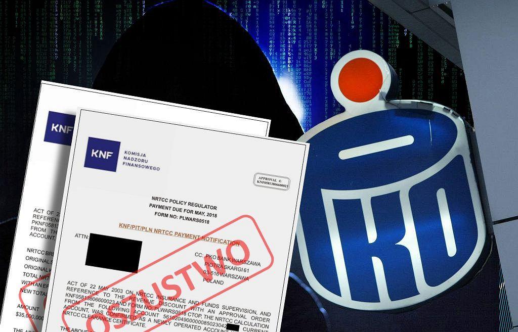 KNF ostrzega przed firmą podszywającą się pod PKO
