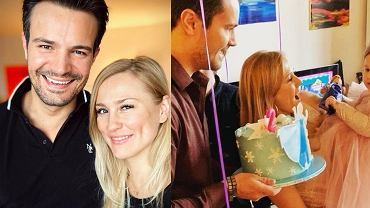 Mikołaj Krawczyk i Sylwia Juszczak świętują urodziny córki. Przy okazji pokazali synów aktora. Ale wyrośli!