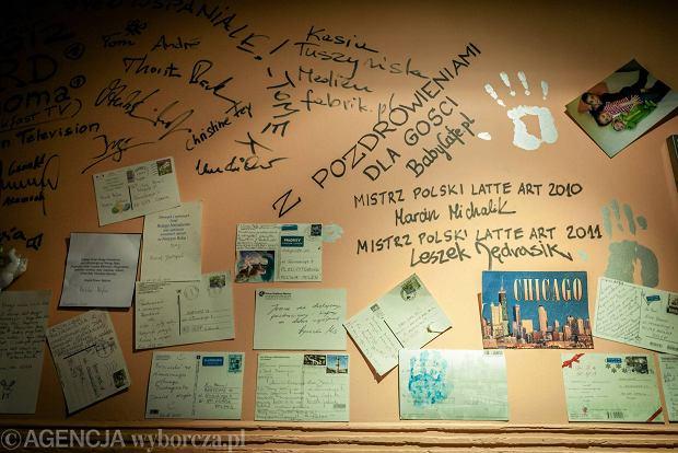 09.04.2014 Gdansk . Restauracja Baby Cafe . Fot. Dominik Sadowski / Agencja Gazeta