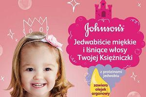 Mała księżniczka myje się sama! Shiny Drops - nowość od JOHNSON'S