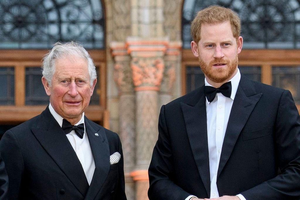 Książę Harry książę Karol