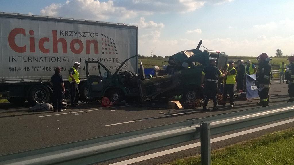 Tragiczny wypadek na obwodnicy Lublina.