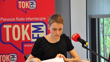 Opolska debata ''Usłysz Swoją Szkołę'' - prowadząca Agata Kowalska