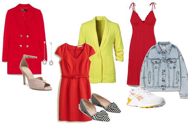 Czerwona sukienka sprawdzi się w prawie każdej sytuacji