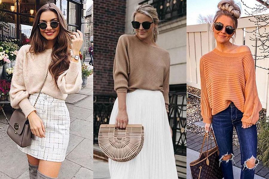 Swetry damskie na wiosnę