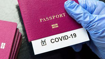 Paszport szczepionkowy, zdjęcie ilustracyjne
