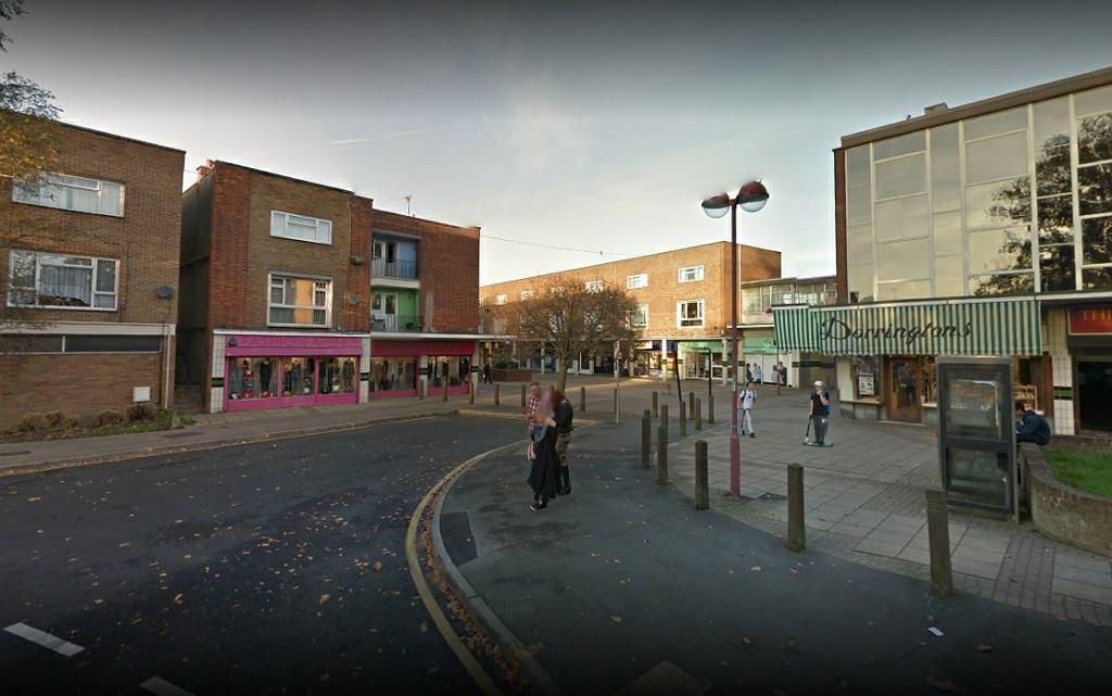 Plac w mieście Harlow