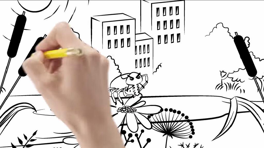 Główny Inspektorat Sanitarny przygotował film, który w prosty sposób objaśnia, jak należy postępować w przypadku ukąszenia przez tego pajęczaka. Film z muzyką Te-Trisa i animacjami Martyny Adamskiej wykonany został techniką sketchnotingową.