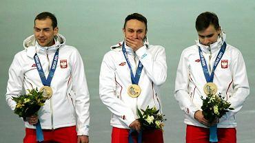 Zbigniew Bródka, Konrad Niedźwiecki i Jan Szymański