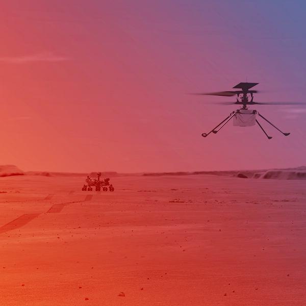 Tak ma wyglądać pierwszy lot helikoptera Ingenuity na Marsie