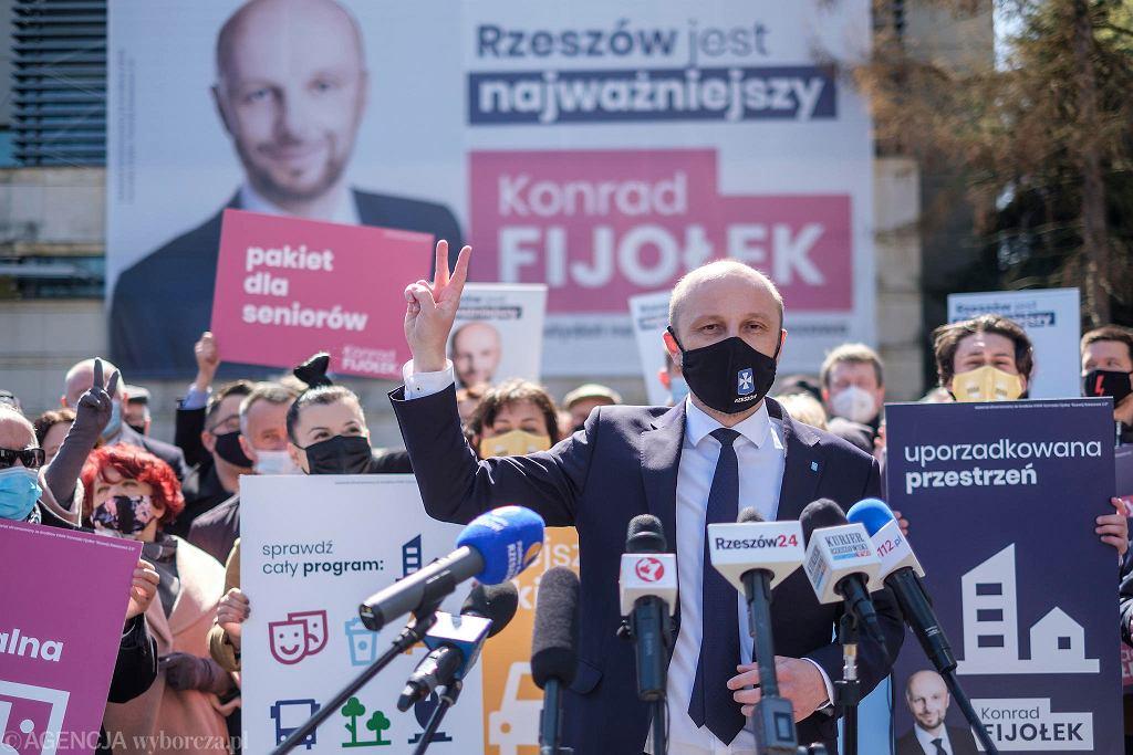 Konrad Fijołek, kandydat na prezydenta Rzeszowa zaprezentował główne filary kampanii wyborczej i hasło wyborcze
