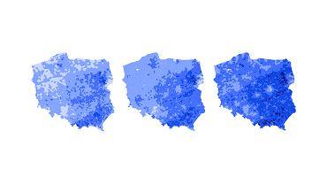 Wyniki PiS w wyborach do Parlamentu Europejskiego w gminach