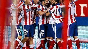 Radość piłkarzy Atletico