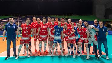 Finał Ligi Mistrzów siatkarzy. Mecz Trentino - ZAKSA Kędzierzyn, 1 maja 2021