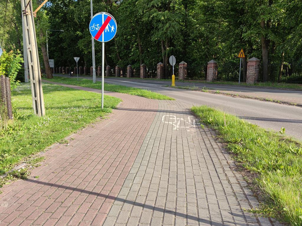 Ścieżki rowerowe nagle się urywają