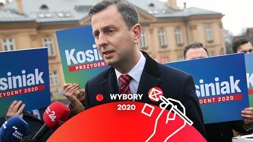 Kosiniak-Kamysz podczas wizyty w ramach kampanii prezydenckiej