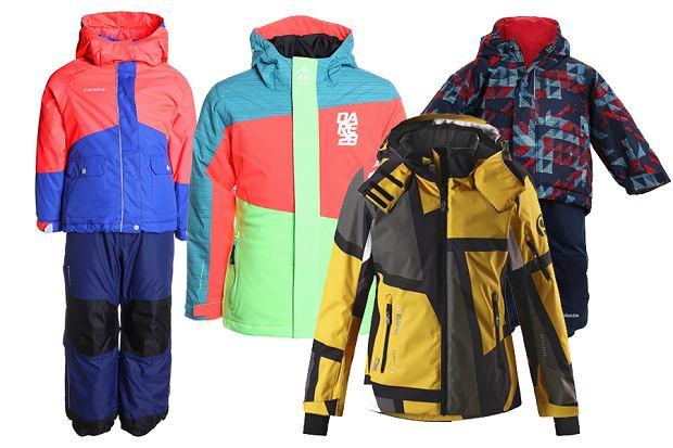 Kurtki narciarskie i kombinezony