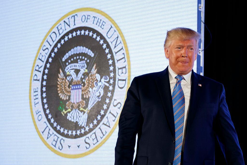 Donald Trump w Waszyngtonie