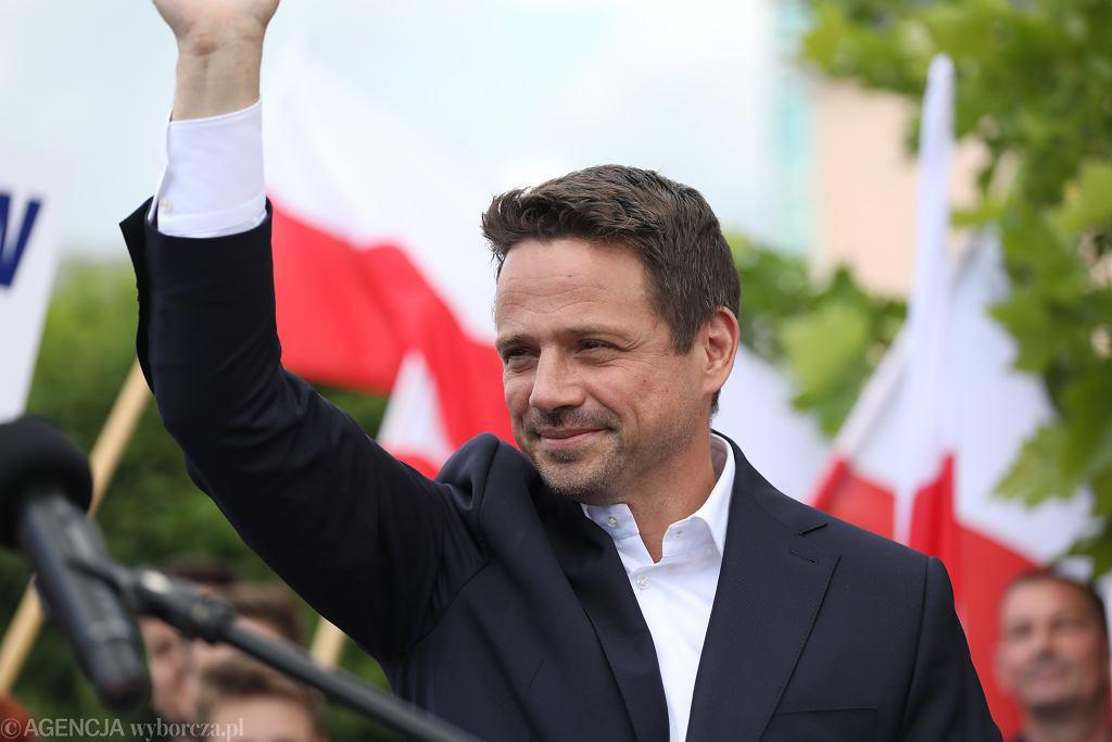 Rafal Trzaskowski w Ciechanowie