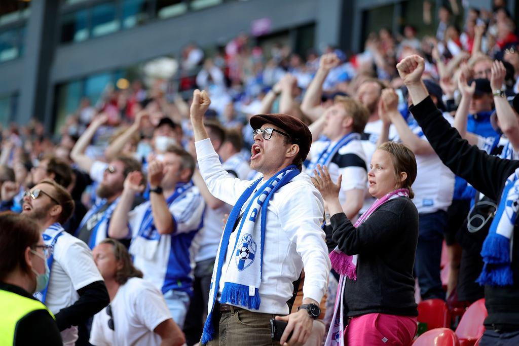 Euro 2020. Mecz Danii z Finlandią