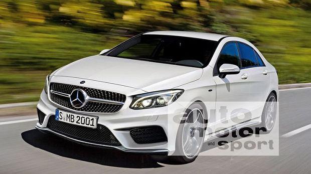 Wizualizacja Mercedesa klasy A