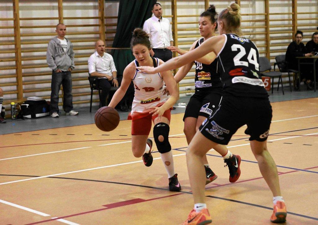 Koszykówka kobiet, I liga. Mon-Pol Płock - Ostrovia Ostrów Wielkopolski