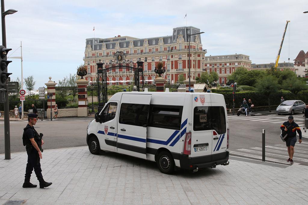 Policja francuska - zdjęcie ilustracyjne