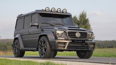 Mansory G63 Gronos Black Edition