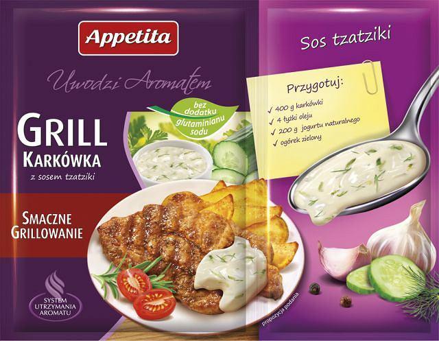 Jutrzenka Appetita grill karkówka z sosem tzatziki