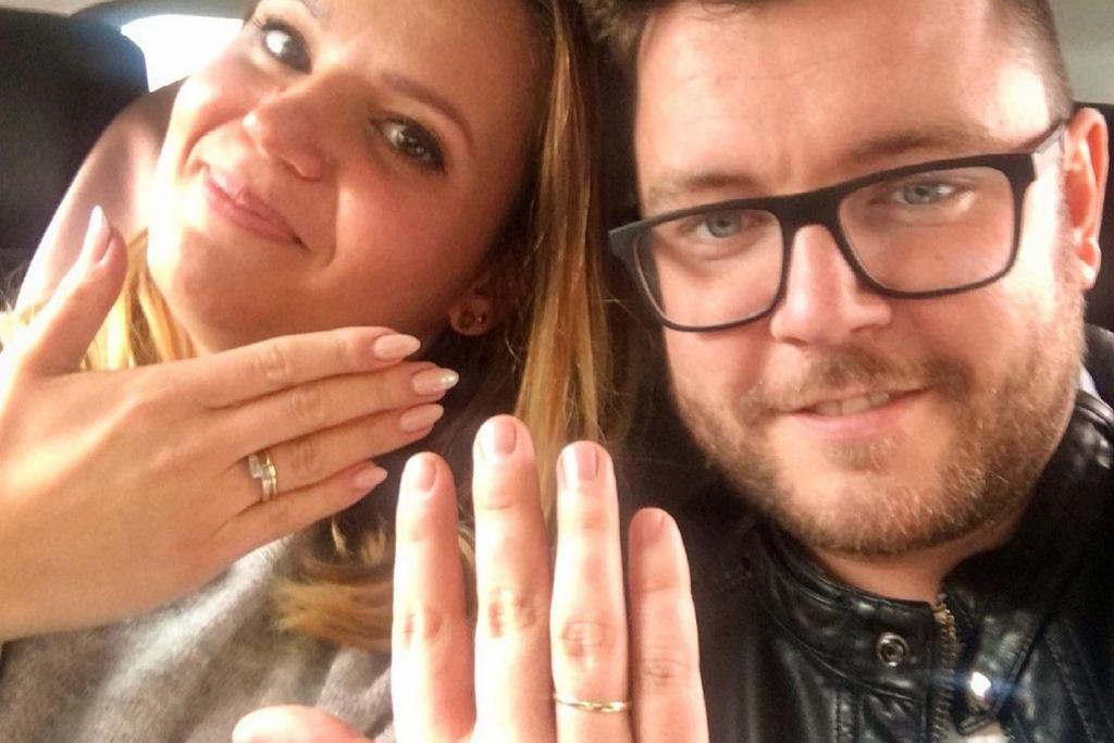 'Ślub od pierwszego wejrzenia'. Agnieszka Łyczakowska i Wojciech Janik po dwóch latach odnowili przysięgę małżeńską