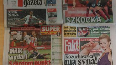 Prasa po meczu Polska - Szkocja