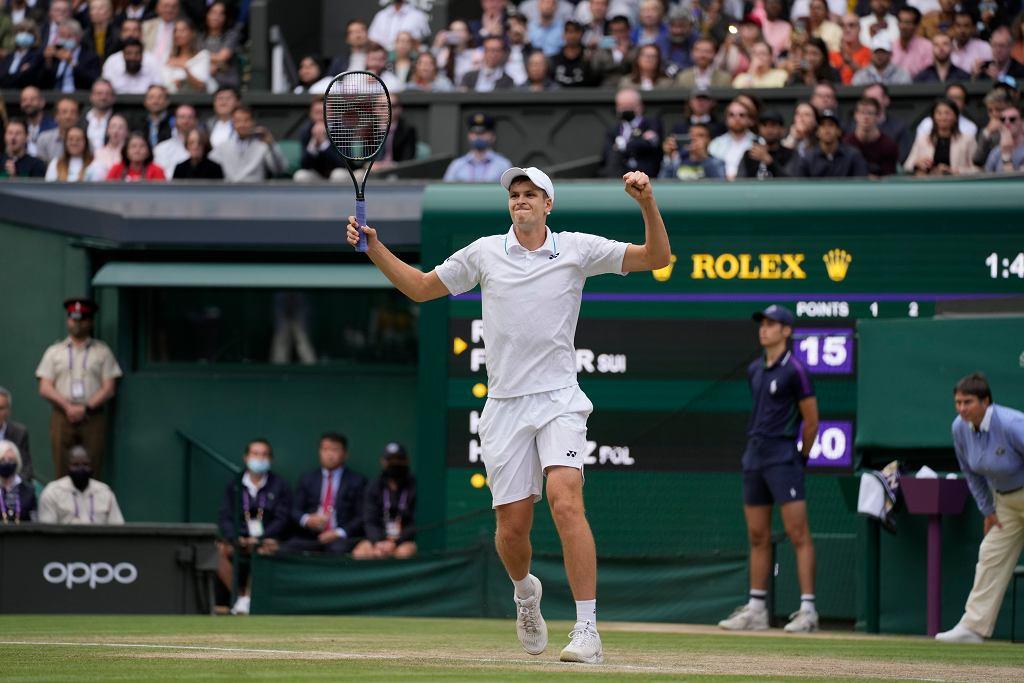 Hubert Hurkacz rekordowo wysoko w rankingu ATP