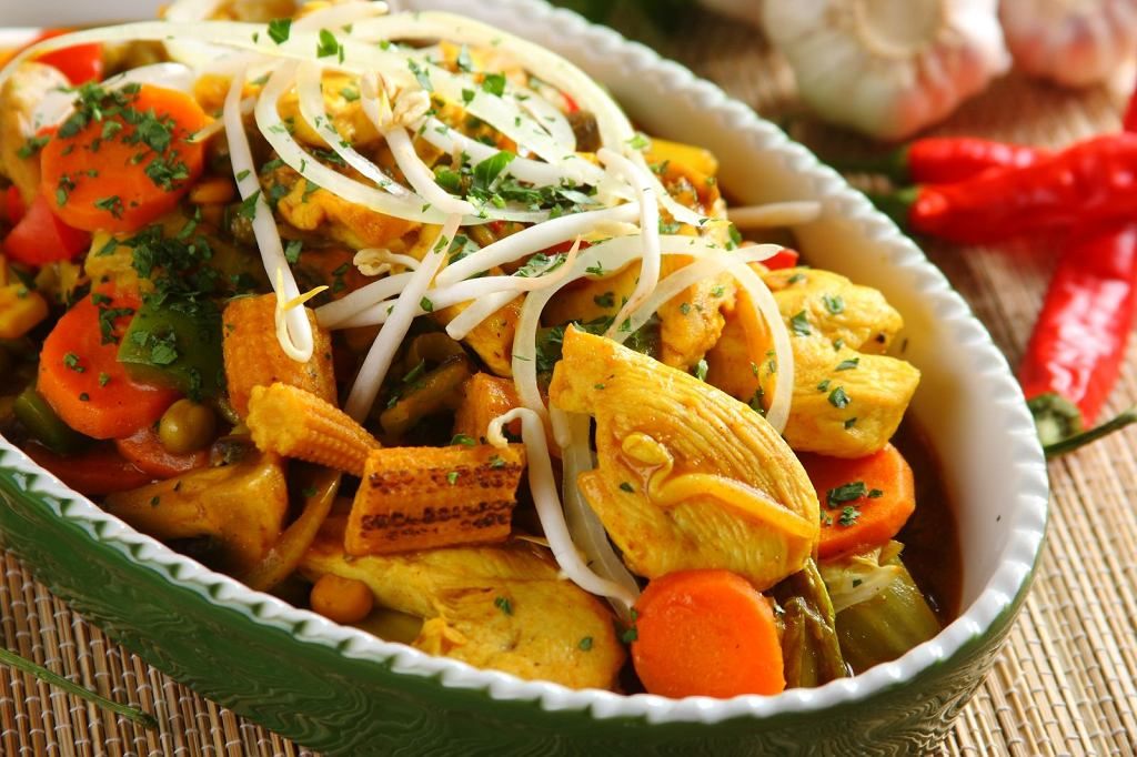 Curry po indyjsku