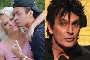 Pamela Anderson, Tommy Lee i ich syn
